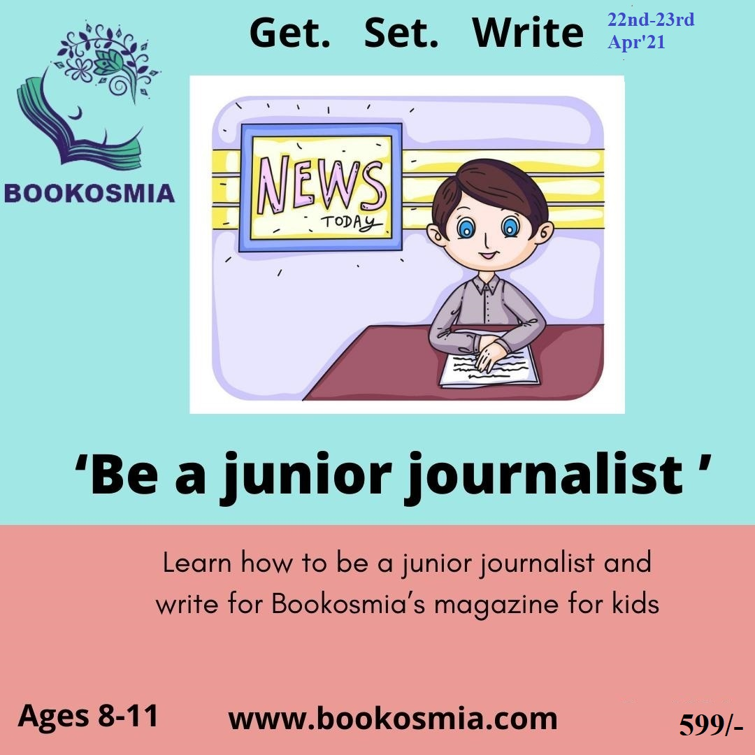 'Be a Journalist' Workshop for Age 8-11