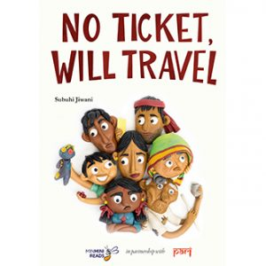 Bookosmia talks to Author of No-Ticket-Will-Travel Karadi Tales Bookosmia