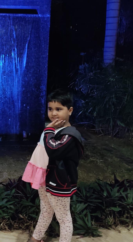Diya Raymond, 5 , Coimbatore