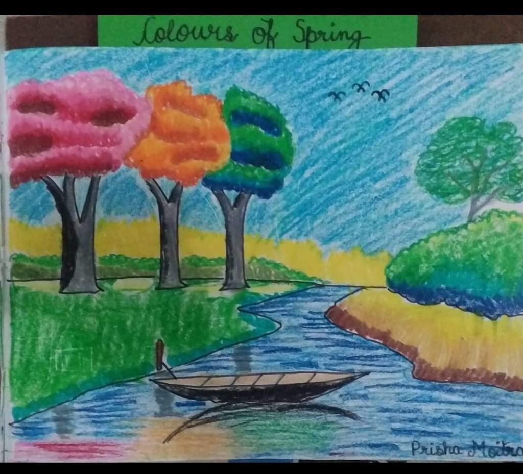 Spring is here! So is my art!
