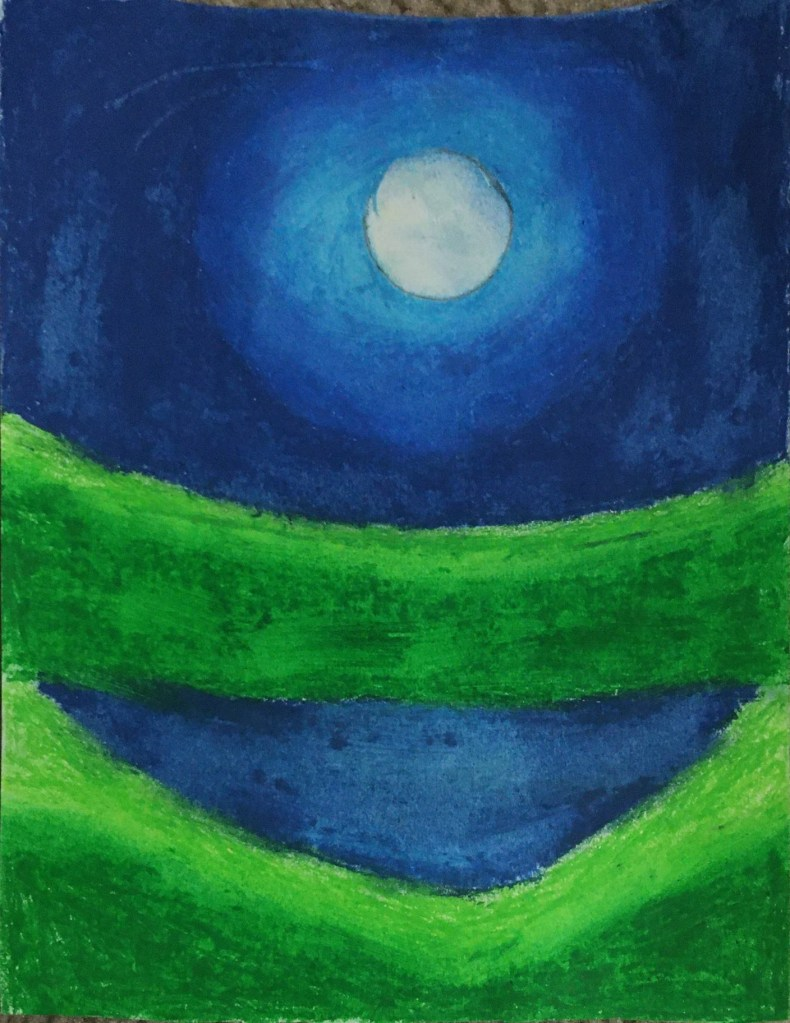 My beautiful journey with oil pastels