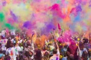 Remembering the fun moments at Holi