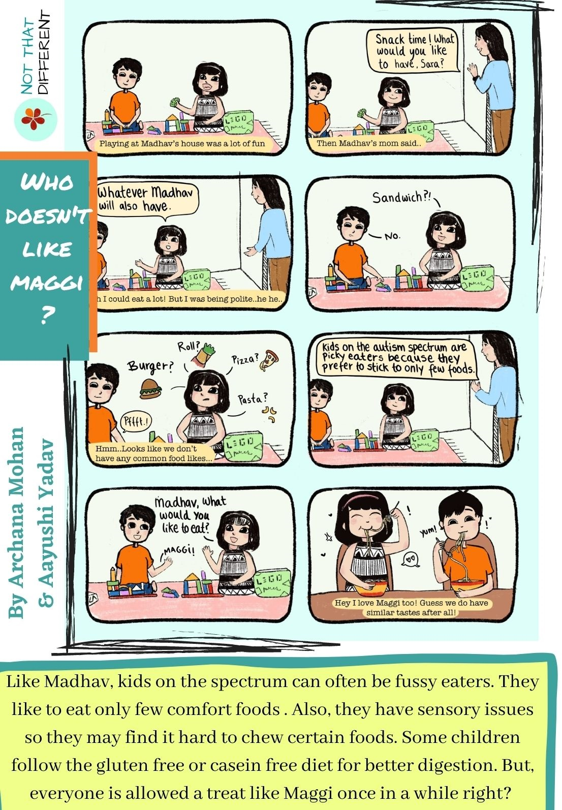 We are Maggicians! | Comic Strip on Autism