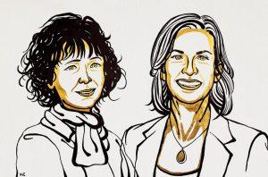 Winners of 2020 Nobel Prize in Chemistry