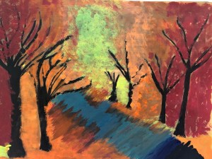 Painting the seasons of nature