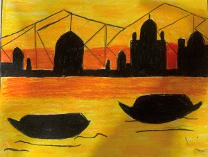 Kolkata - Painting the city of joy