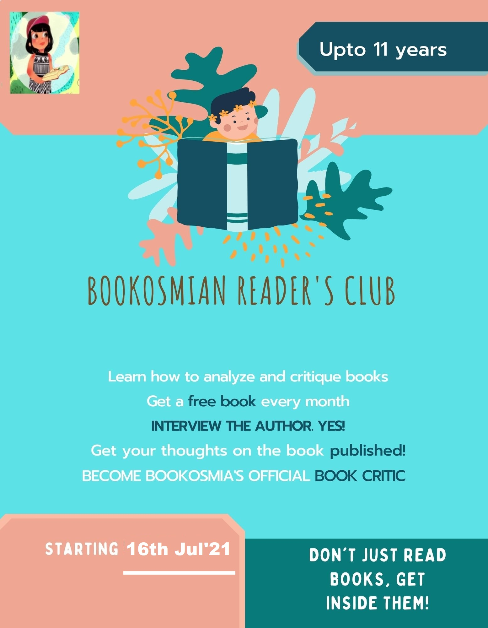 Young Reader's Club-3 Months