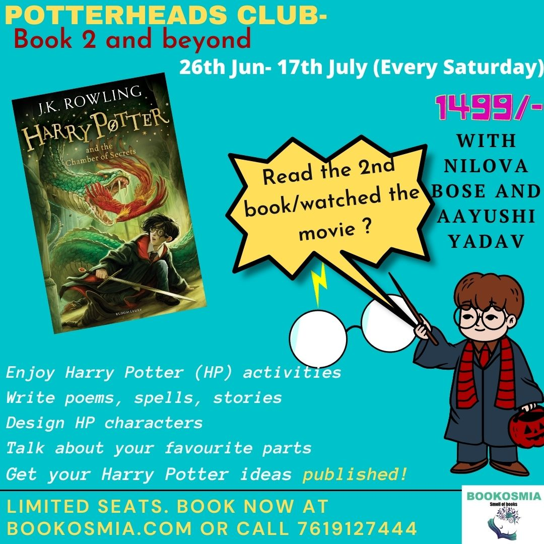 Harry Potter Weekly Club- Book 2 & Beyond