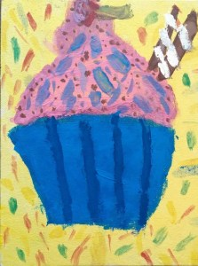 Free hand drawing - Bright colours to cheer you