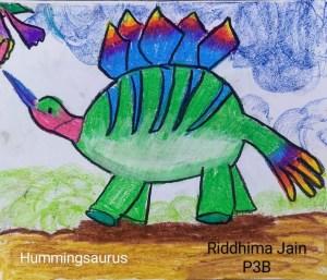 Dinosaur species - The humming dino