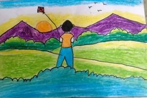 Simple joys - Fly away kite!