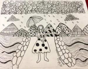 Doodle art - Circles, spirals and lots of fun