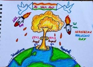 Hiroshima Day - No more wars, let's maintain peace