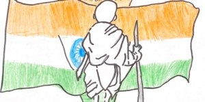 Independence day drawings - Jai hind!