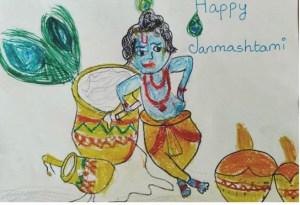 Janmashtami- A cake for Krishna