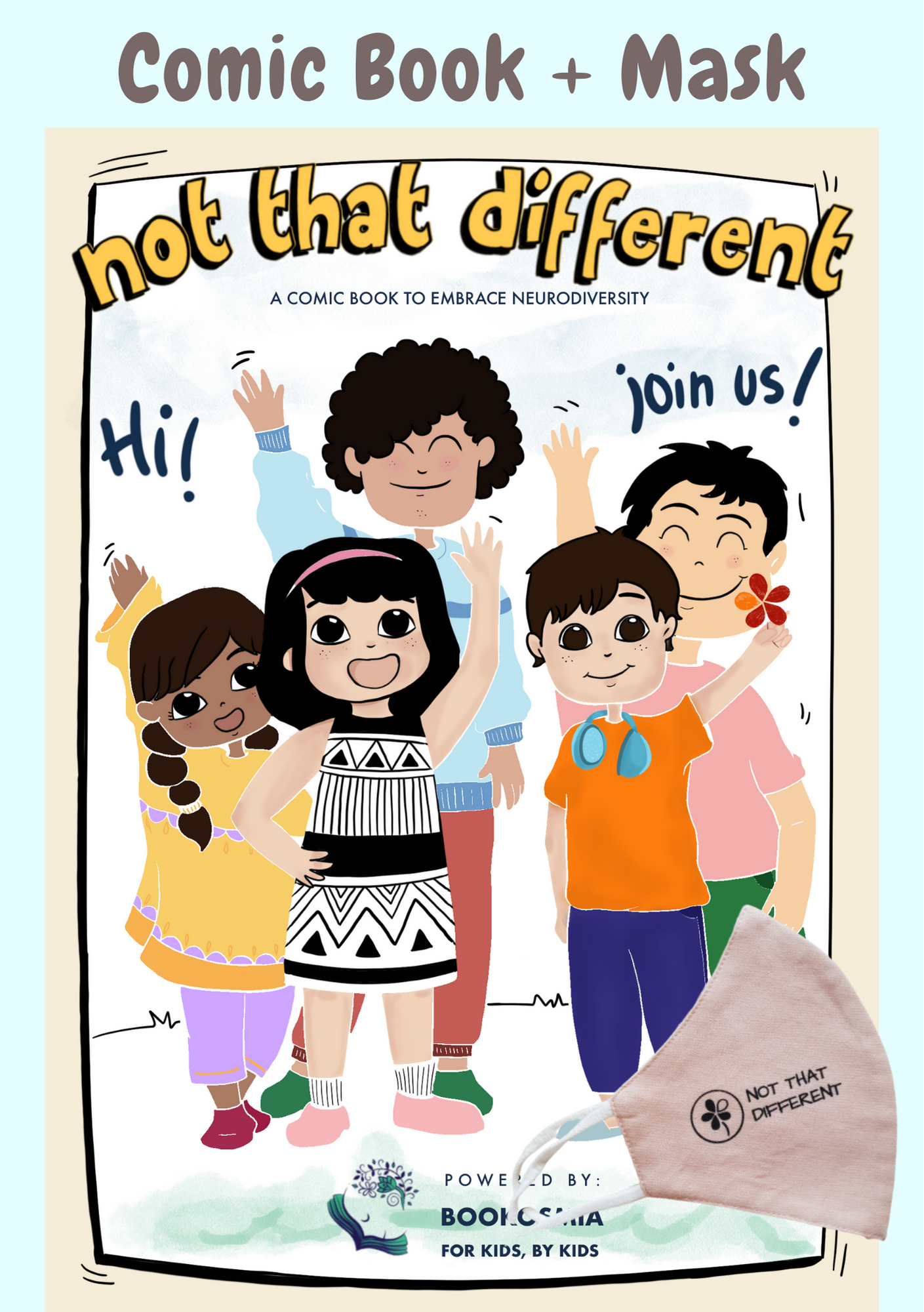 Preorder -Not That Different Comic