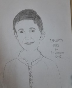 Sketching - How do you like my self portrait?